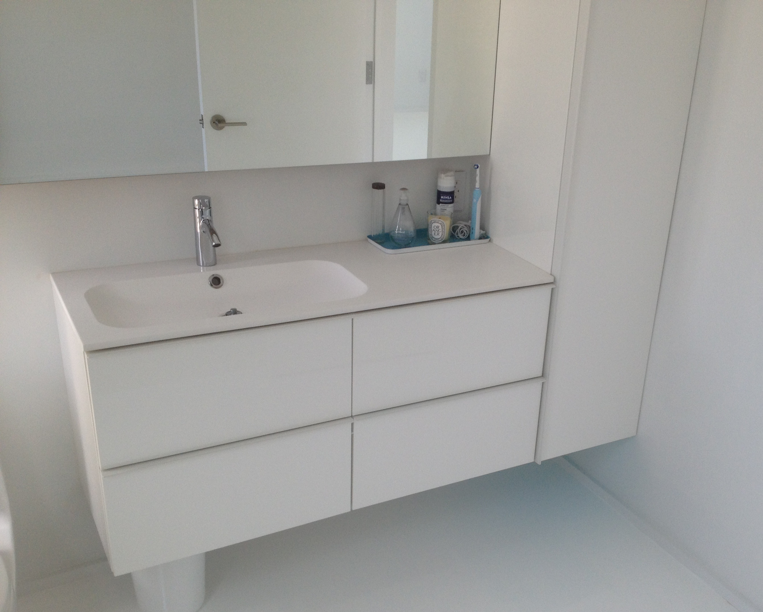 ikea cabinetry and sink