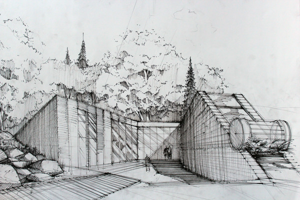 Line Drawing Architecture : Why we need to bring back the draft fougeron architecture